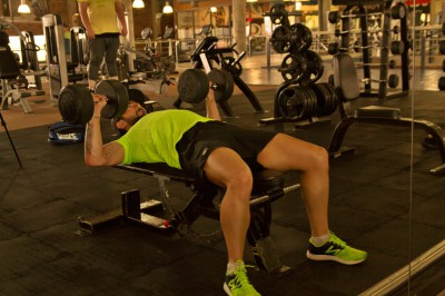 Chest Press, Dumbbell Chest Press