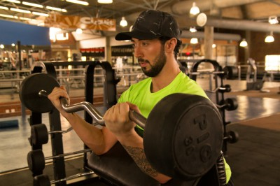 EZ-Bar Bicep Curl