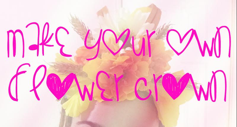 Video: Easy Flower Crown Tutorial