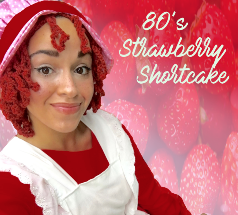 80's Throwback! Strawberry Shortcake is now available.