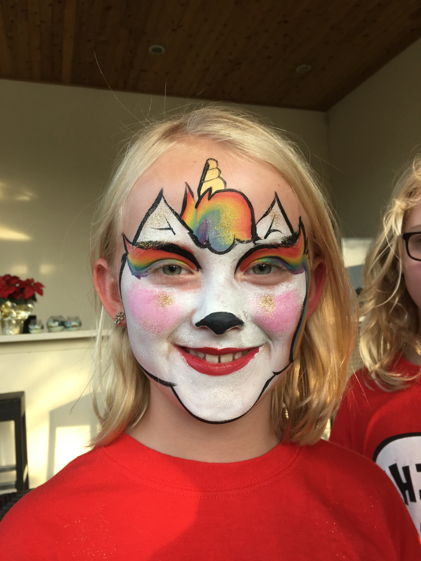 Girl's five most requested face paint designs
