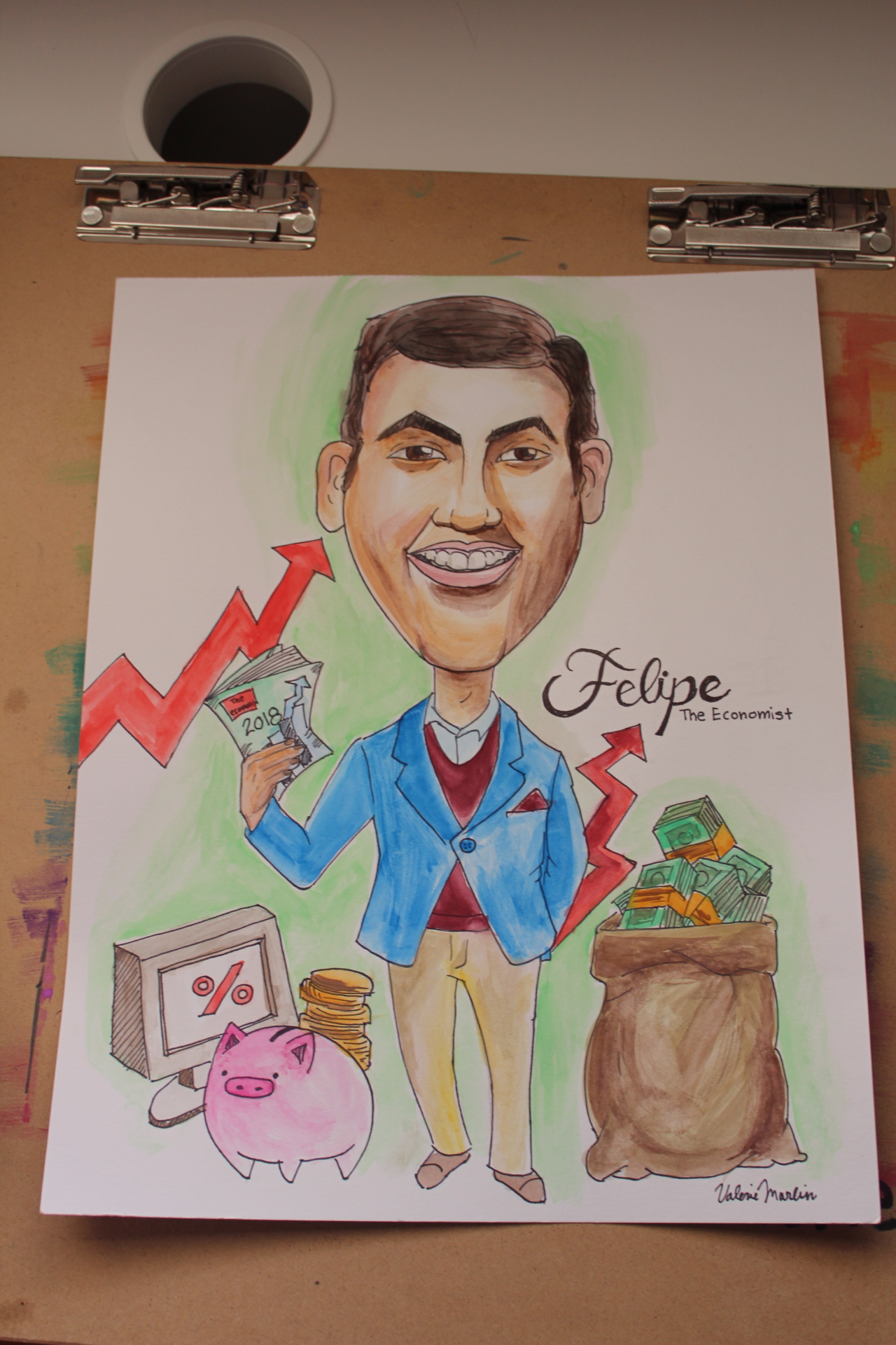 I'm a Caricature artist #ARTSOCIETYBROWARD