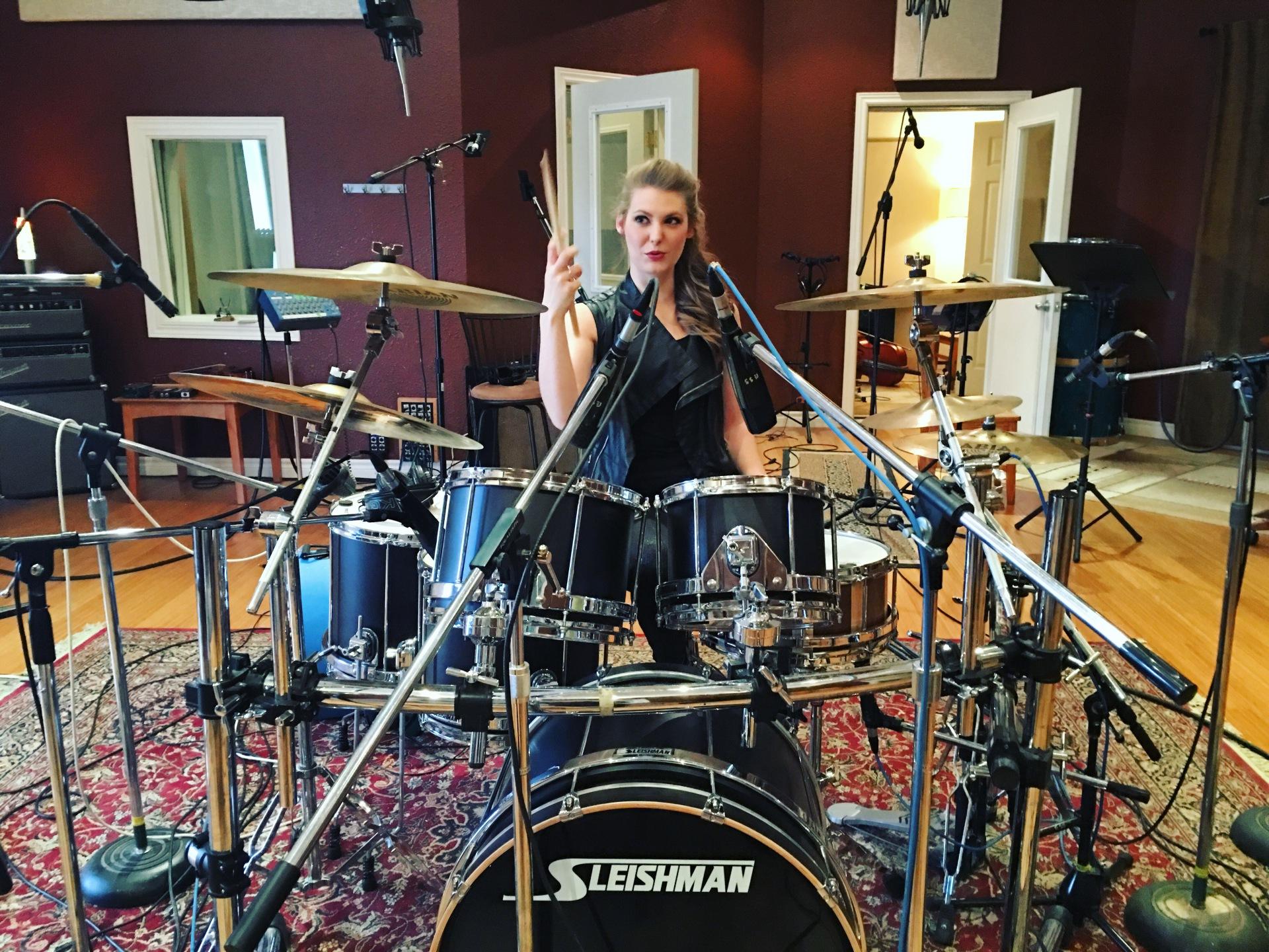 Barrage 8 Recording at Escarpment Sound Studio