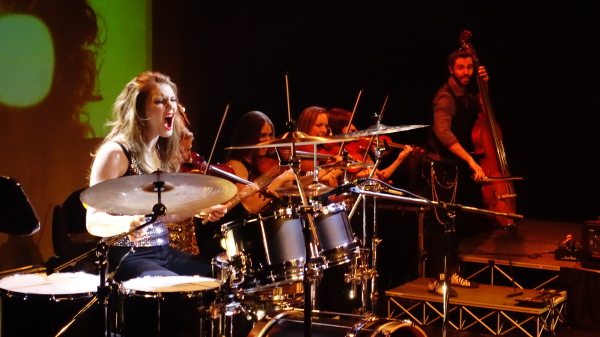 Barrage 8 show in Alamogordo, NM