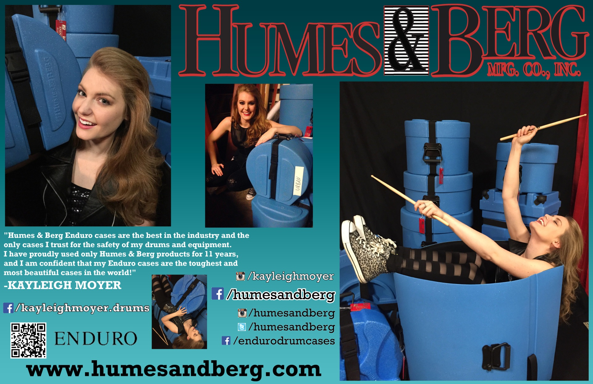 Humes & Berg Promotional Poster