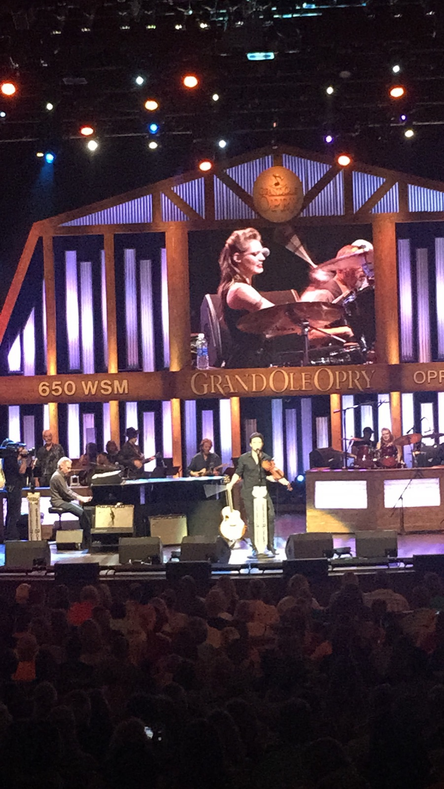 First Grand Ole Opry Performance