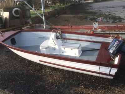 Open top fishing boat