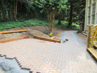 KMS Restorations Backyard Pergola & Fire Pit