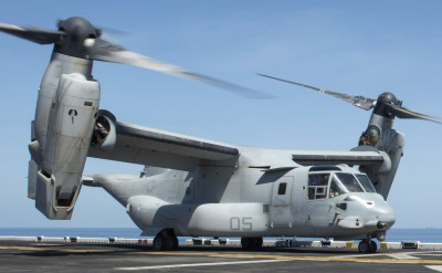 V-22 Osprey is Coming