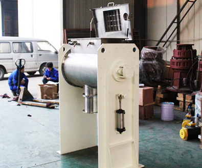 PTP-200 POWDER MIXER DELIVERED