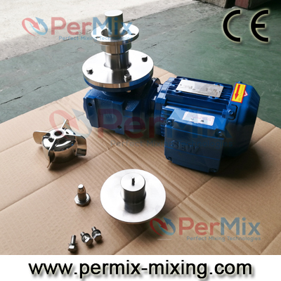 bottom mounted magnetic mixer
