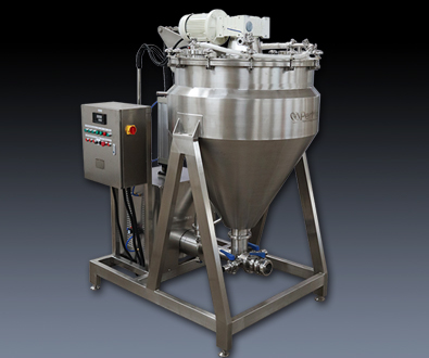 VACUUM EMULSIFYING MIXER TO BE SHIPPED
