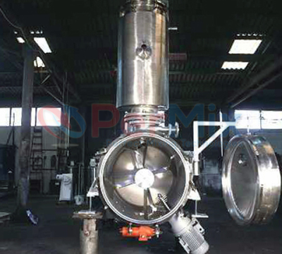 vacuum mixer dryer