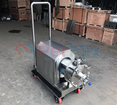 Inline Homogenizing Mixer