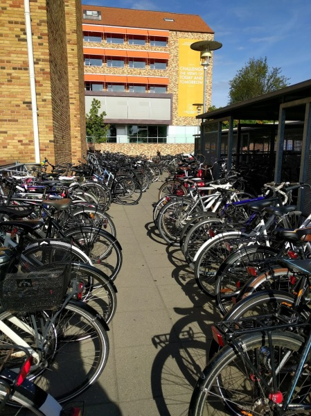 Typical number of bikes