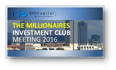 May 19th - The Millionaires Investment Club Meeting, San Diego