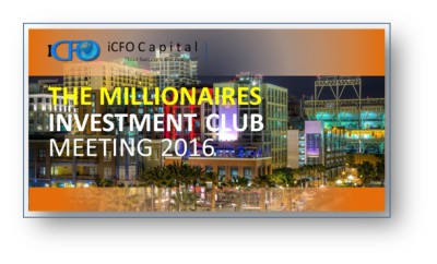 March 17th - The Millionaires Investment Club Meeting, San Diego, CA