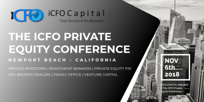 June 23rd - iCFO Capital Investment Conference, Los Angeles