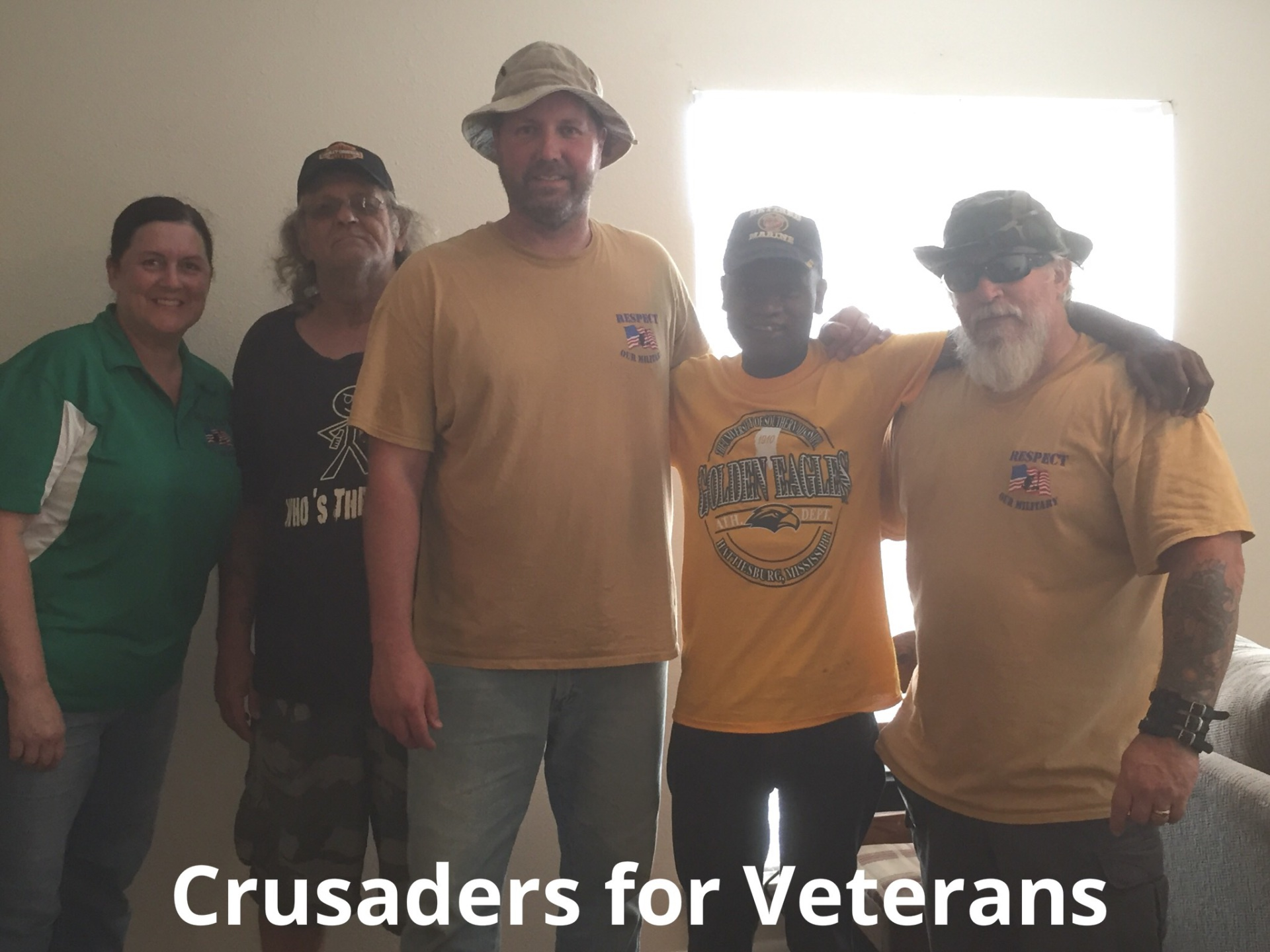 Caring for Honorably discharged struggling Veterans