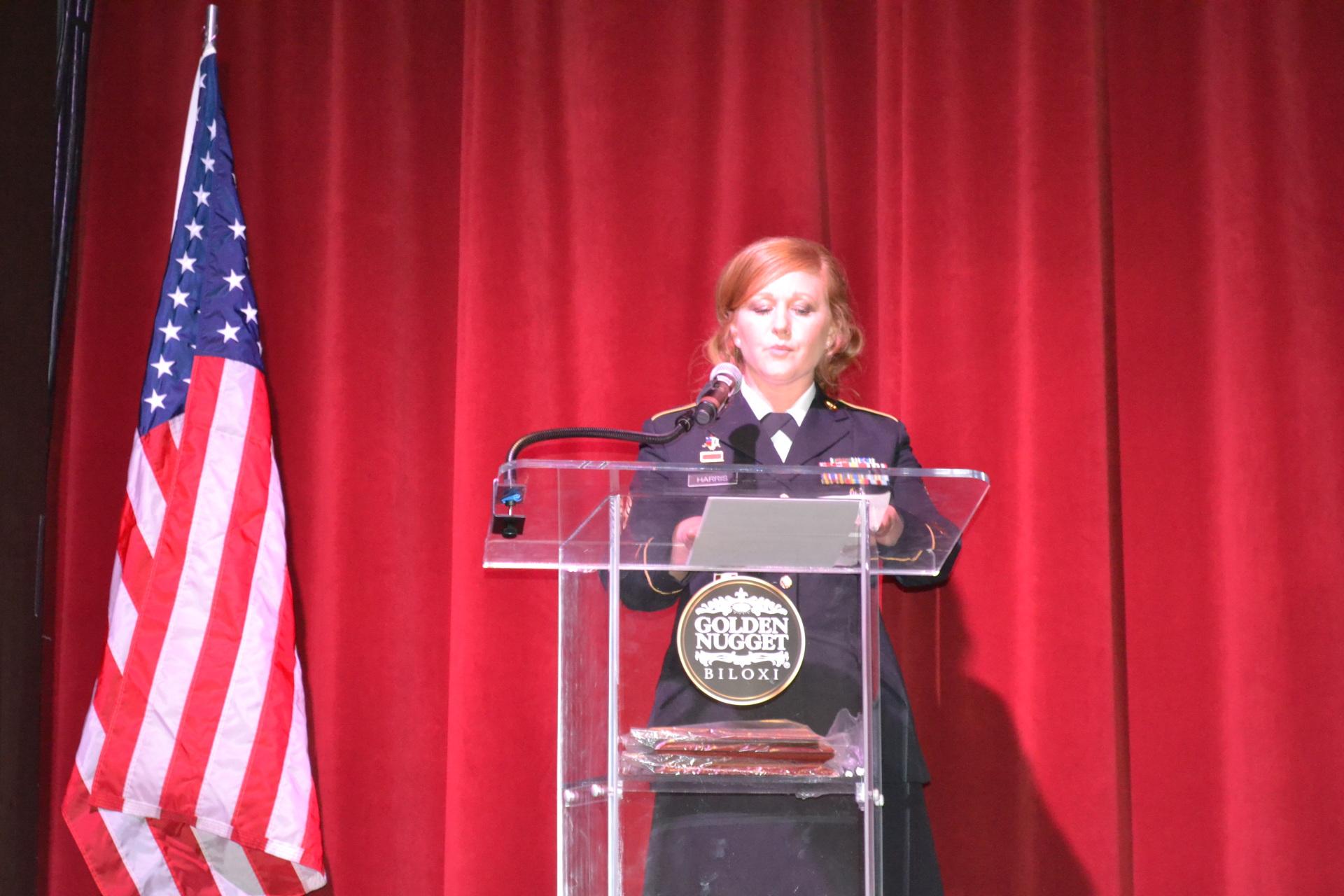 Sgt First Class Melissa Harris
