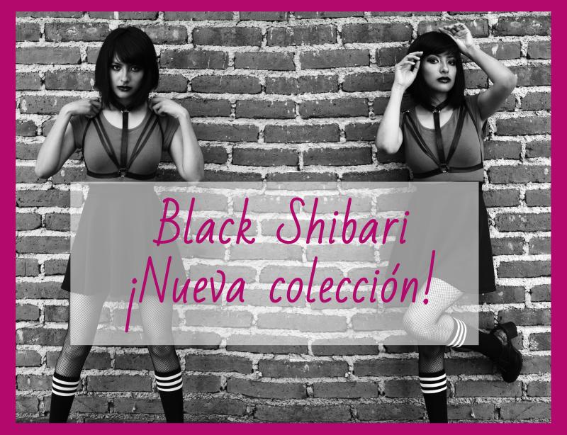 Pagana/ Moda Alternativa colección Black Shibari