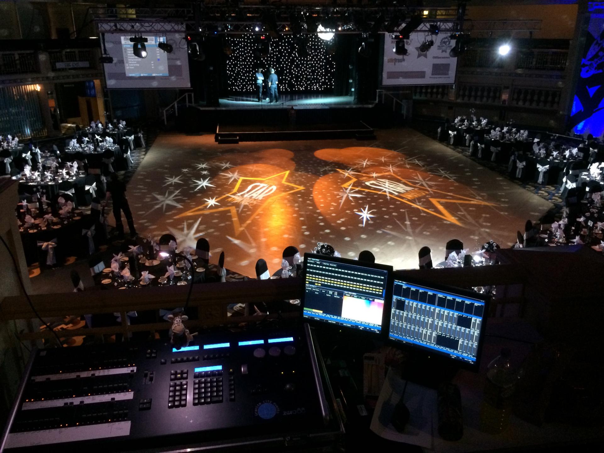 Star Awards lighting programming