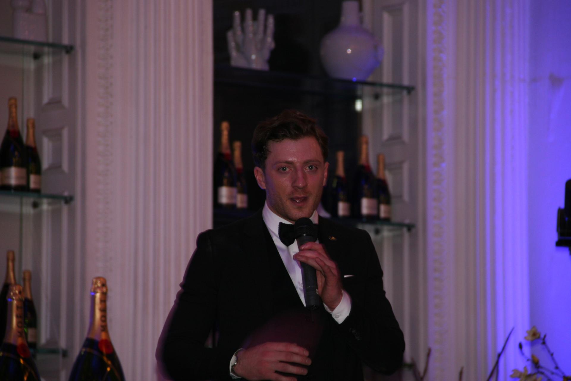 Christian Macleod at The Corinthian Club