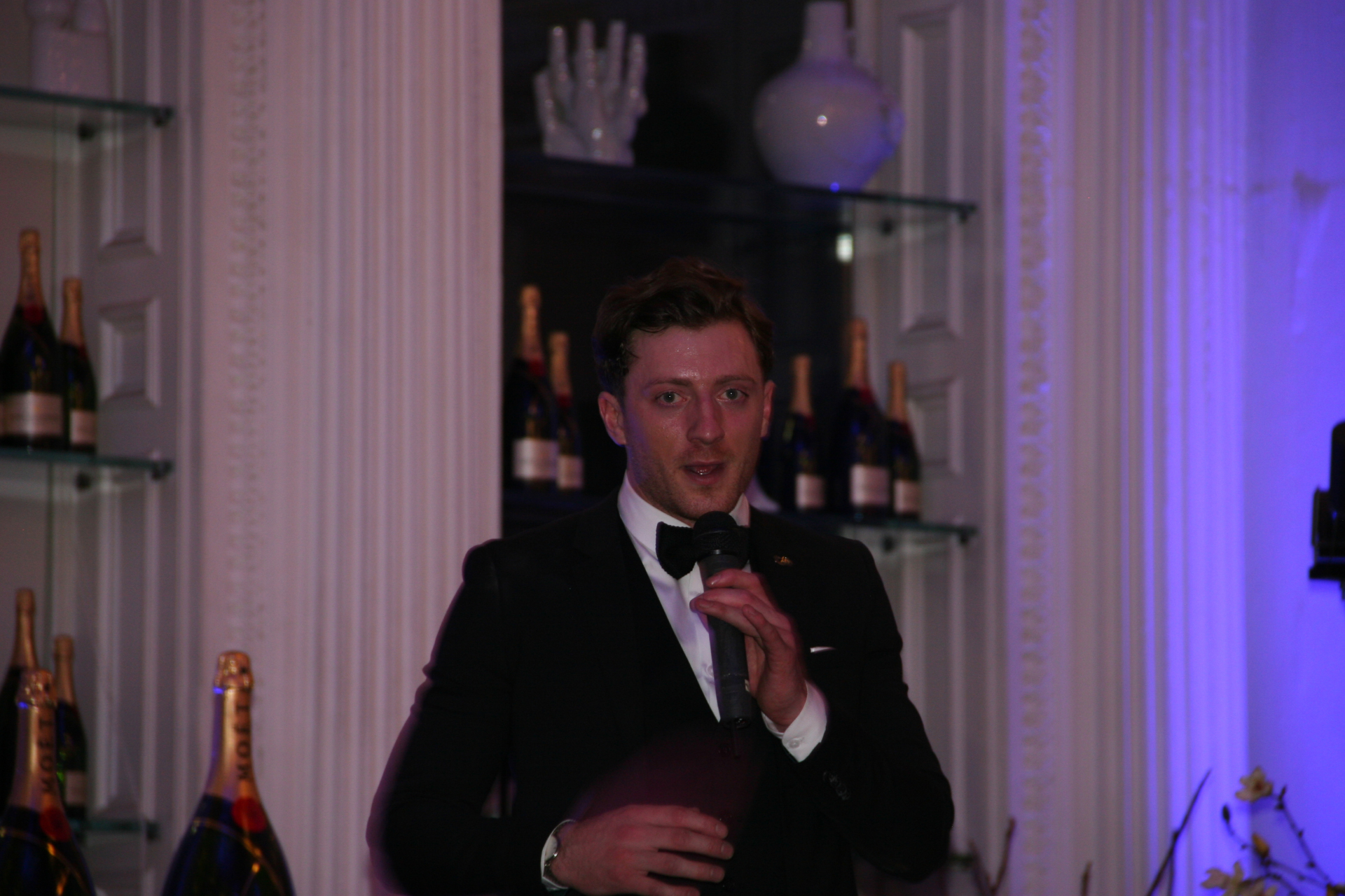 Christian Macleod at The Corinthian Club