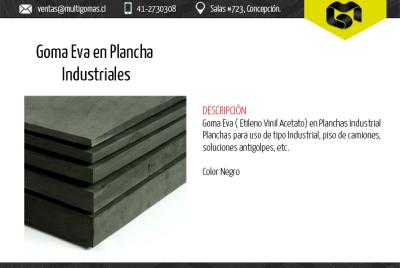 Goma EVA en planchas industriales