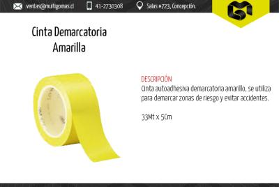 Cinta demarcatoria amarilla