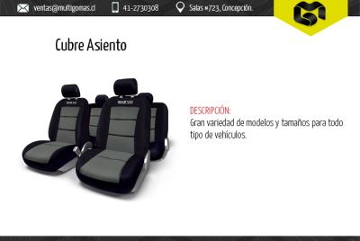 Cubre asiento