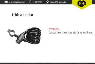 Clable antirrobo