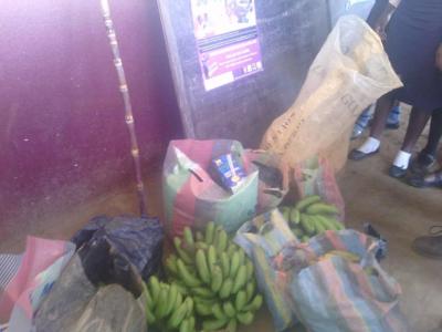 Food item donated