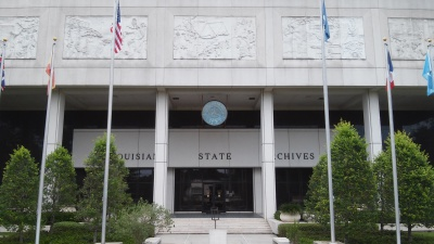 Louisiana State Archives in Baton Rouge, Lousiana