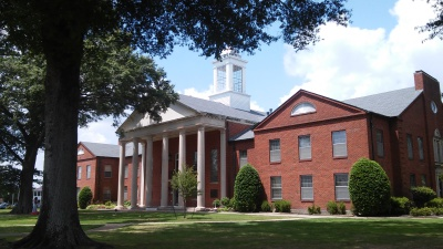 DeSoto County Courthouse in Hernando Mississippi