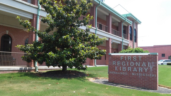First Regional Library in Hernando Mississippi
