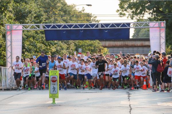 "More than 600 runners start the ""Oui"" Run"
