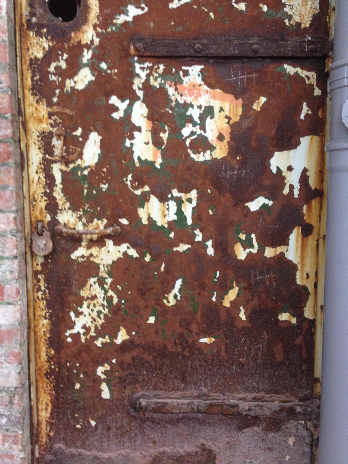 Observer Building Door, First Floor
