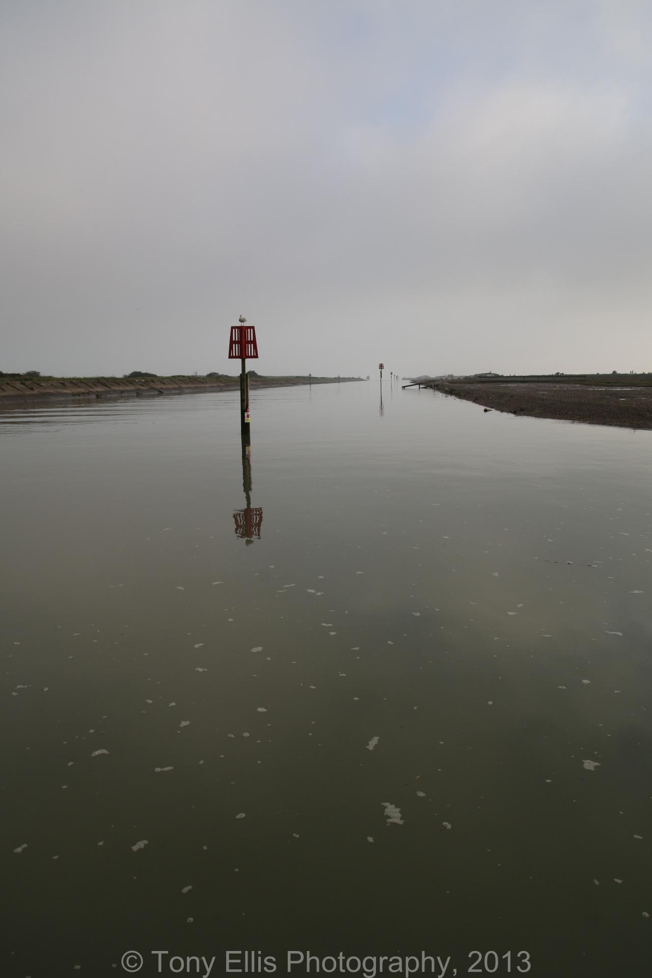 Rye Harbour High Tide