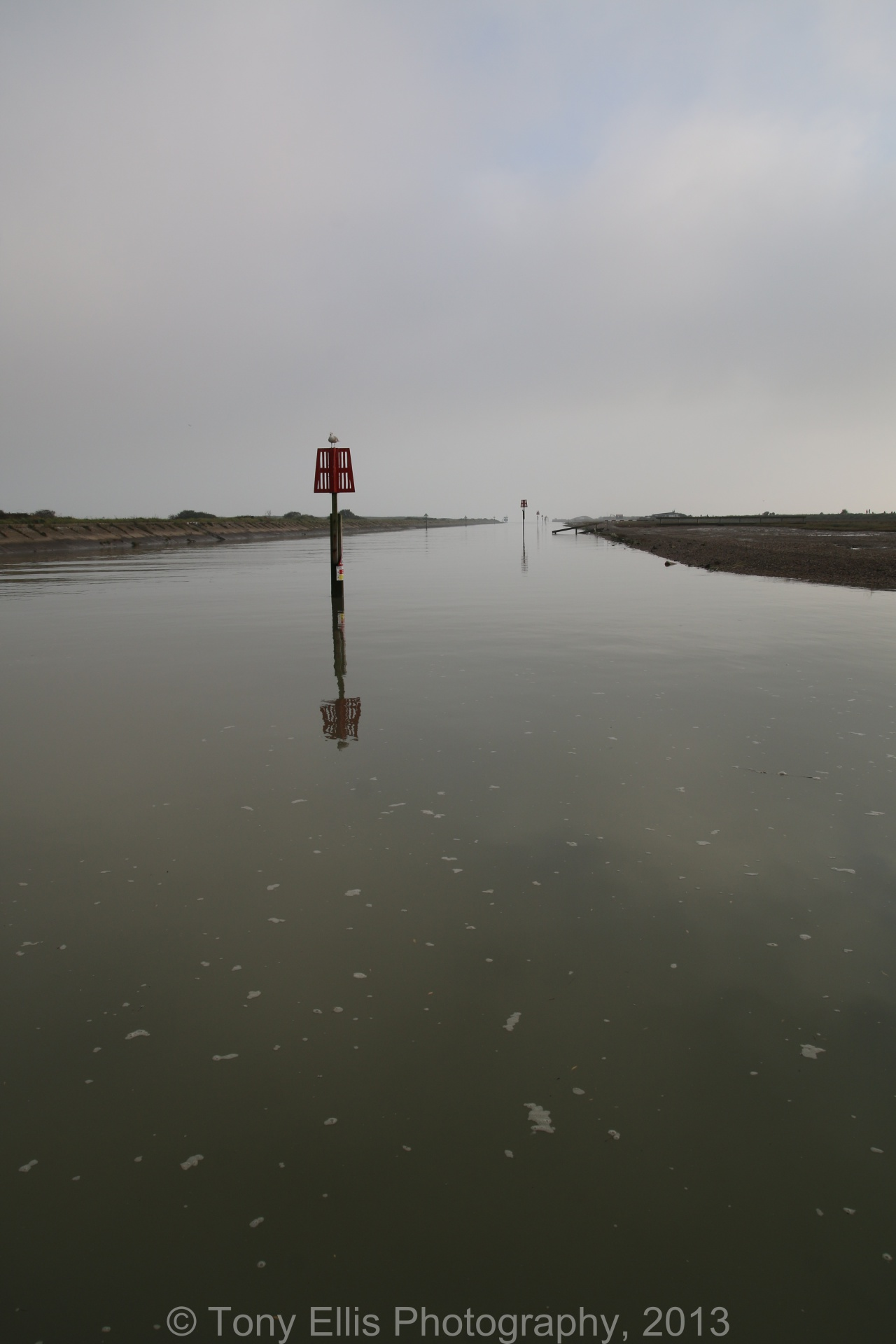 Rye Harbour High Tide