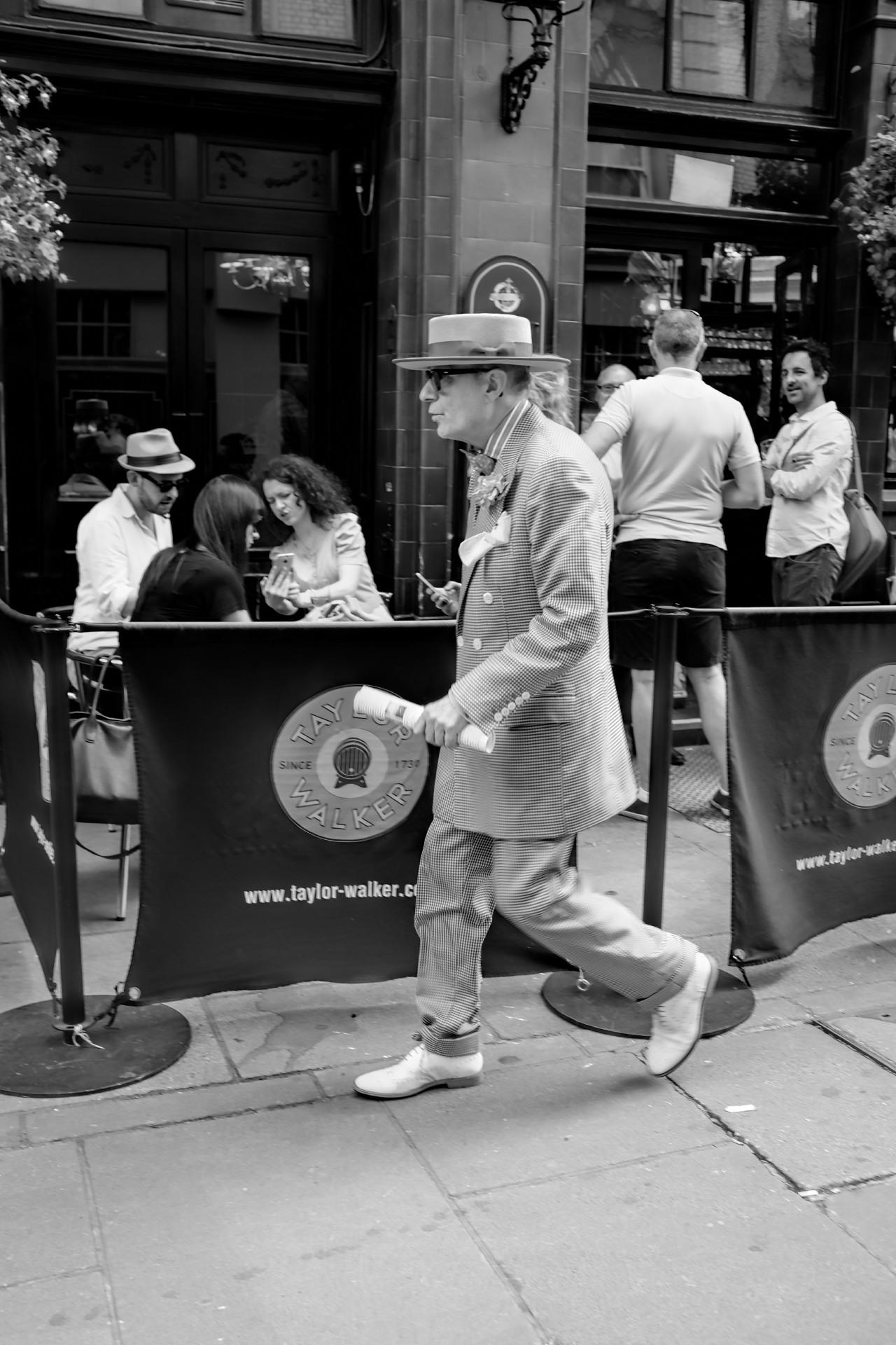 Street Walker - Seven Dials, London.