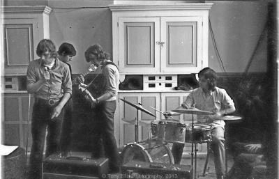 Upcoming Band Rehearsal - 1972.