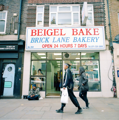 Bagels On Brick Lane.