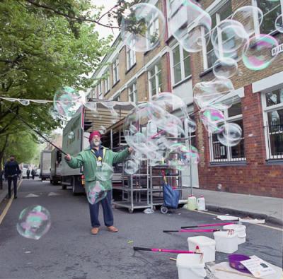 Columbia Road Bubbles.