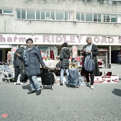 Riddley Road Market.