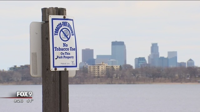 Total Smoking Ban In Minneapolis Parks