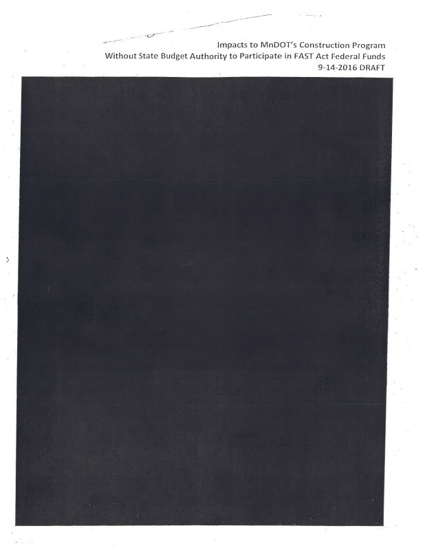 MnDOT Redacted Documents
