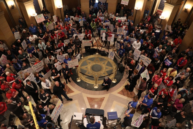 At Capitol, Legislative Session Counts Down Amid Uncertainty