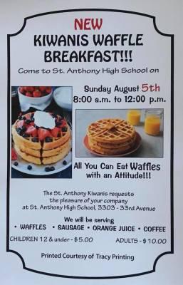 St. Anthony Village Kiwanis Waffle Breakfast