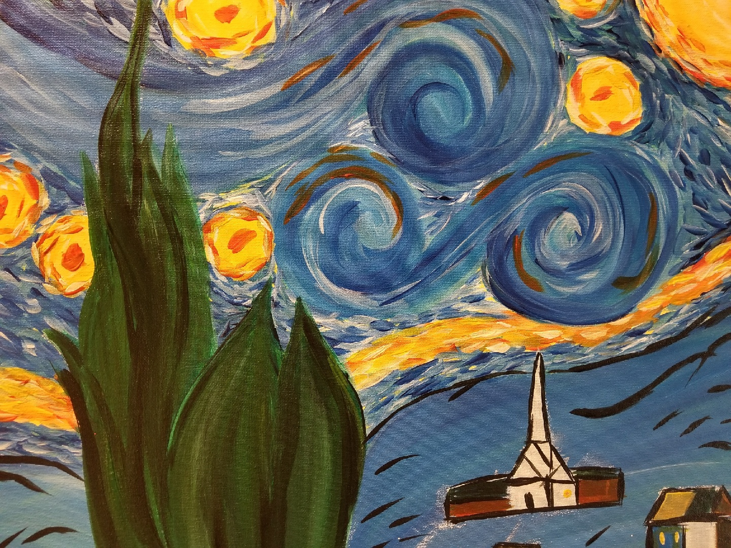 Van Gogh Inspired Night